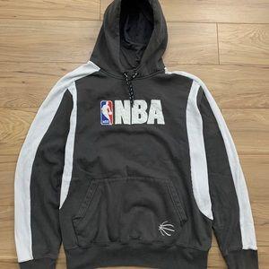 NBA Embroidered Logo Hooded Sweatshirt (Sz M)